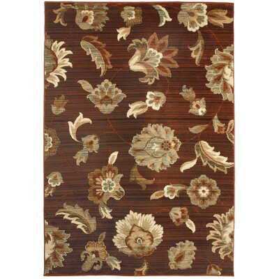 Orian Rugs Inc. Anthology Brown Red Frazier Rug