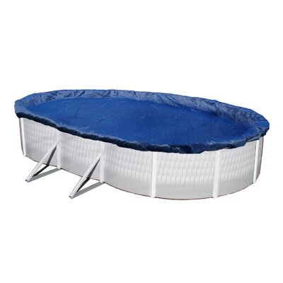 Dirt Defender Dirt Defender 15-Year Oval Above Ground Pool Winter Cover