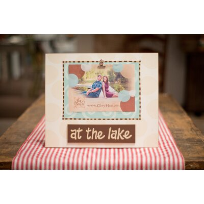 Glory Haus At The Lake Clip Picture Frame