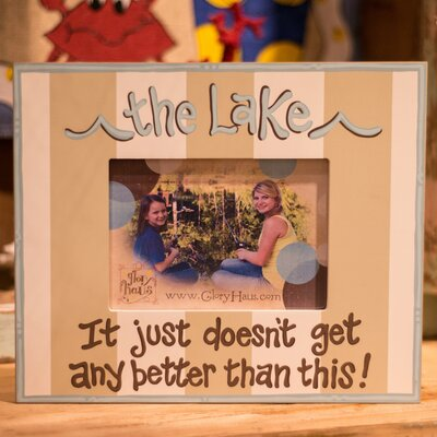 Lake Picture Frame