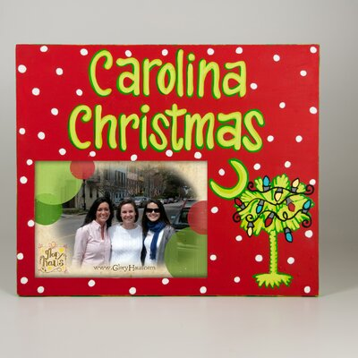South Carolina Christmas Picture Frame