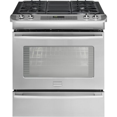Professional Series Dual Fuel Slide-In Range with PowerPlus Convection