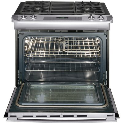 Frigidaire Professional Series Gas Slide-In Range with True Convection