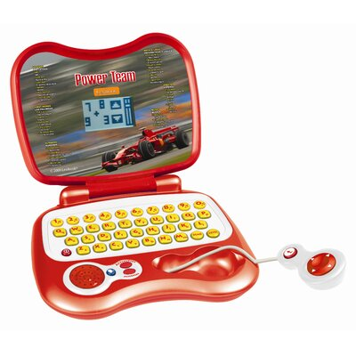 Lexibook Ferrari Power Team Electronic Learning Computer