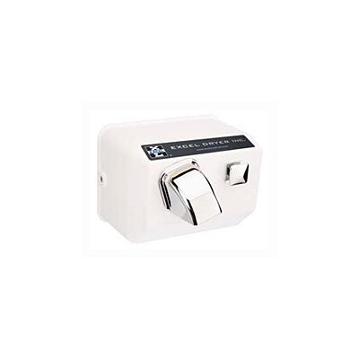 Excel Dryer Push Button Surface Mounted Hand Dryer