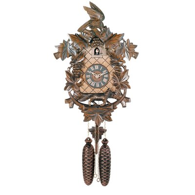 Eight Day Hand-carved Cuckoo Clock