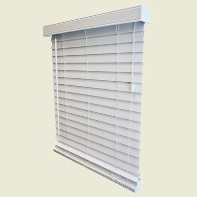 "Wildon Home ® Faux Wood Blind - 96"" H"