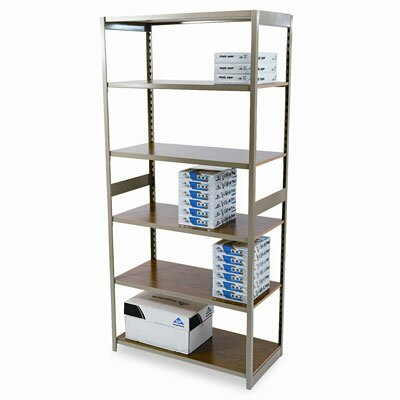 Tennsco Corp. Regal Shelving Starter Set, 6 Shelves