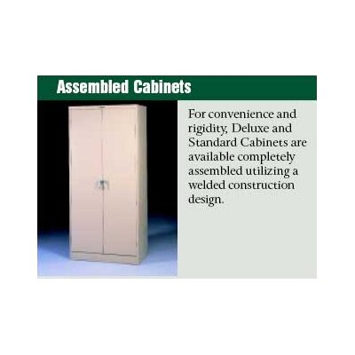"Tennsco Corp. Assembled Deluxe 18"" Deep Wardrobe Cabinet"
