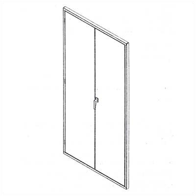 Tennsco Corp. Z Line Hinged Doors