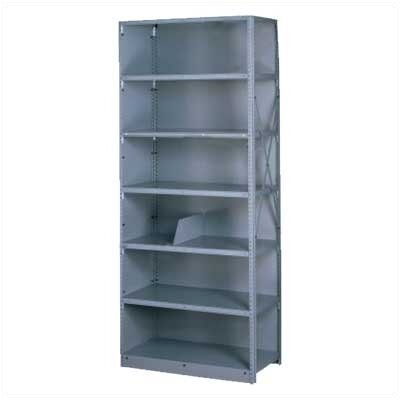 Tennsco Corp. Q Line Closed Shelving, 5 Shelves (Adder)