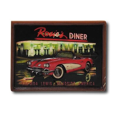 RAM Gameroom Products Hand-Carved Corvette Picture