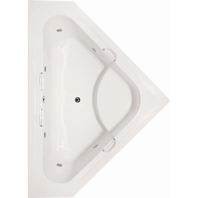 Hydro Systems Designer Whitney Whirlpool Tub with Whirlpool System