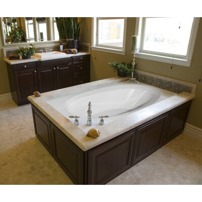 Hydro Systems Designer Ovation 72&quot; W X 42&quot; D Air Bath Tub with Thermal System