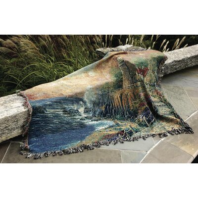 Manual Woodworkers & Weavers The Light of Peace Tapestry Cotton Throw