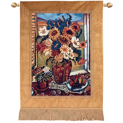 Manual Woodworkers & Weavers Sunflowers Atindow Tapestry