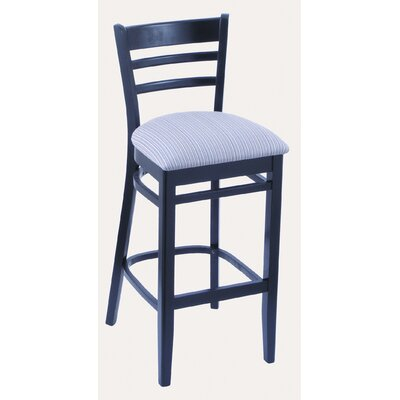 Holland Bar Stool Hampton 3140 Solid Hardwood Stationary Bar Stool