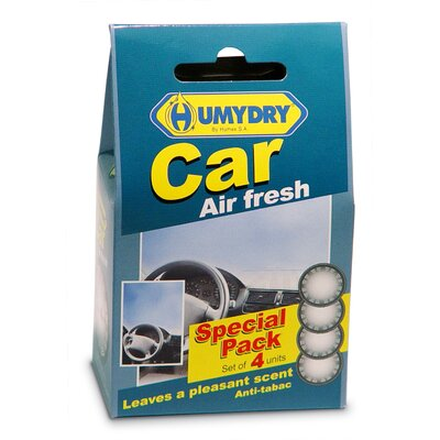 Humydry Car Air Freshener (Pack of 4)