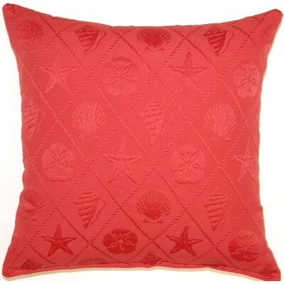Dakotah Pillow Shell Trellis Cotton Pillow (Set of 2)