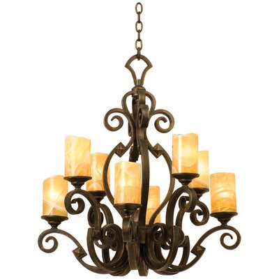 Kalco Ibiza 8 Light Chandelier