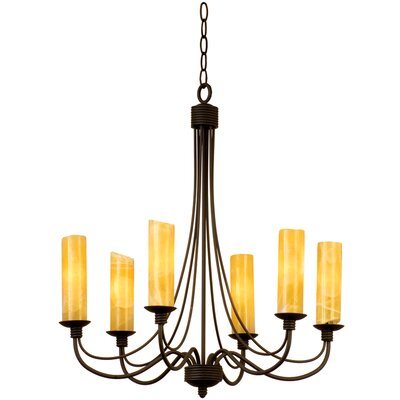 Kalco Richmond 6 Light Chandelier