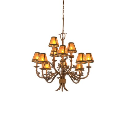 Kalco Ponderosa 12 Light Chandelier