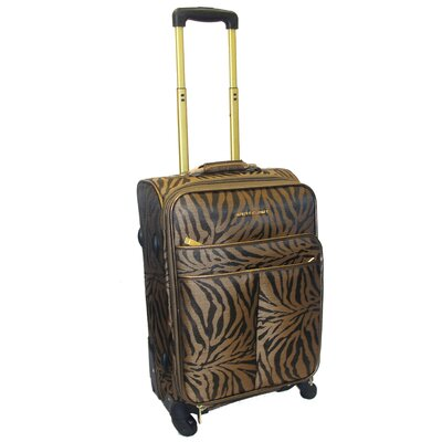 Adrienne Vittadini Jungle 4 Piece Luggage Set