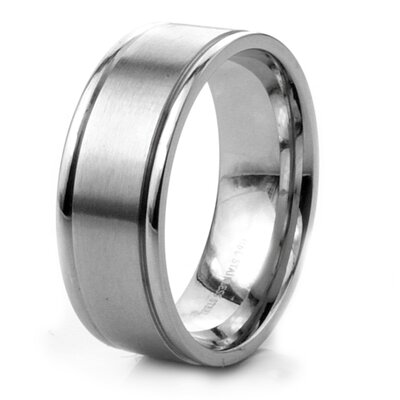 Men's Stainless Steel Band Ring