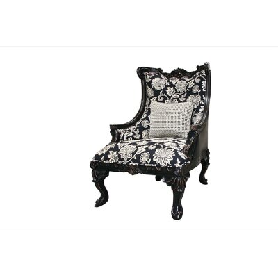 Legion Furniture Wooden Framed Arm Chair