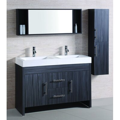 Legion Furniture Sink Vanity with Mirror and Side Cabinet