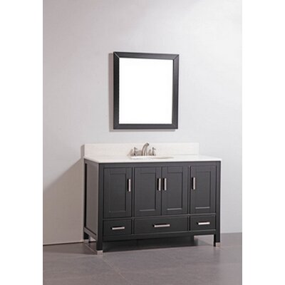 Bathroom Vanity  on 48  Solid Wood Bathroom Vanity Set Features   Bathroom Vanity