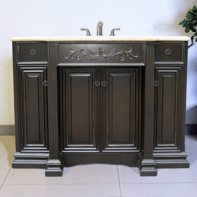 "Legion Furniture 48"" Sink Chest Vanity Set"