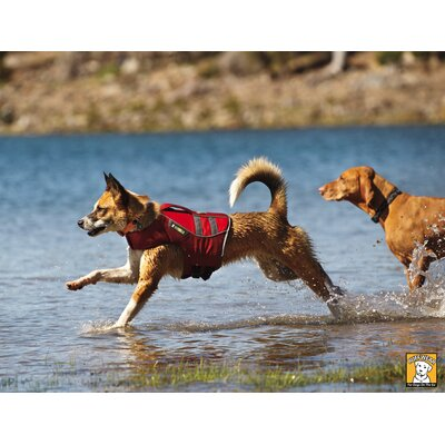 RuffWear K9 Float Coat™ in Red Currant