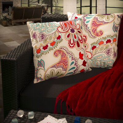 Home Loft Concept Embroidered Paillette Pillow (Set of 2)