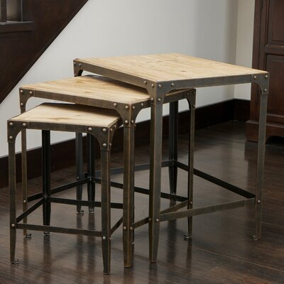 Home Loft Concept Plano End Table (Set of 3)
