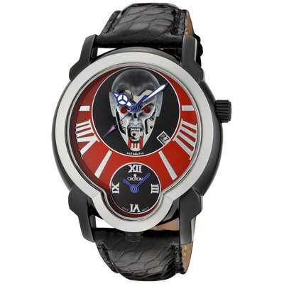 Croton Men's Daredevil Vampire Dial Round Watch