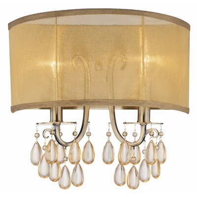 Crystorama Hampton 2 Light Wall Sconce