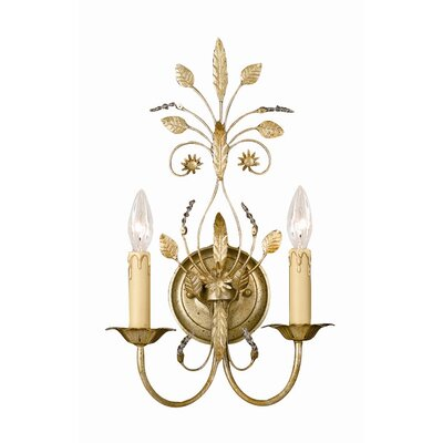 Gold Candle Sconce | Wayfair