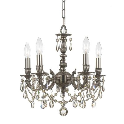 Gramercy 5 Light Mini Chandelier
