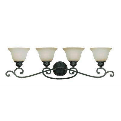 Jeremiah Farmington 4 Light Bath Vanity Light