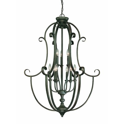 Barret Place 9 Light Foyer Pendant