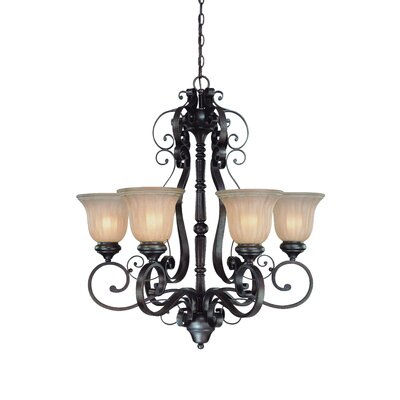 Jeremiah LaGrange 6 Light Chandelier