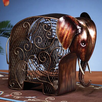 Deco Breeze Elephant Shaped Figurine Fan