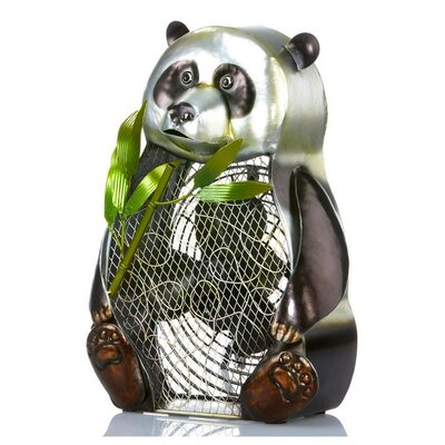 Panda Bear Figurine Table Top Fan