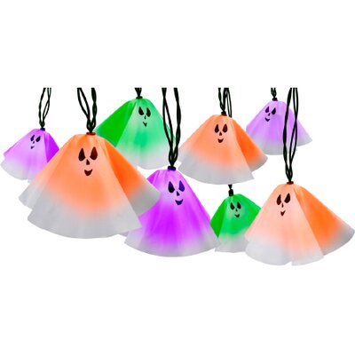 Gemmy Industries Light Show Ghost (Set of 10)