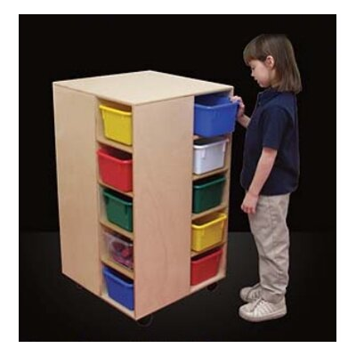 Wood Designs Cubby Spinner with Trays