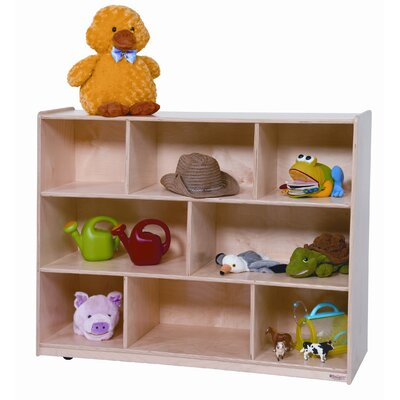 "Wood Designs 36"" Tip-Me-Not Single Storage Unit with Hardboard Back"