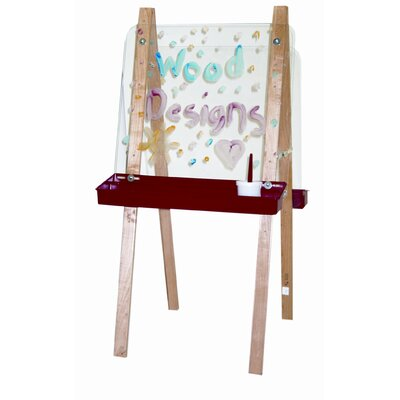 Wood Designs Double Adjustable Easel with Two Side Acrylic board