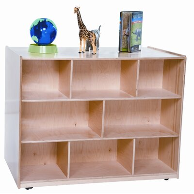 "Wood Designs 36"" x 48"" Mobile Double Storage Island"