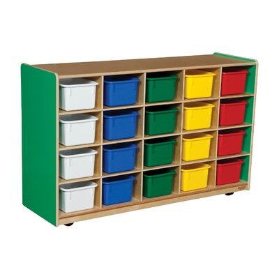Wood Designs Twenty Tray Storage Unit